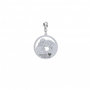 Charms FRIENDS FOREVER serce GRAWER GRATIS
