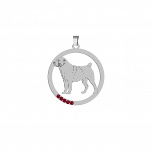 Pendant Central Asian Shepherd Dog (Asian) FREE ENGRAVING